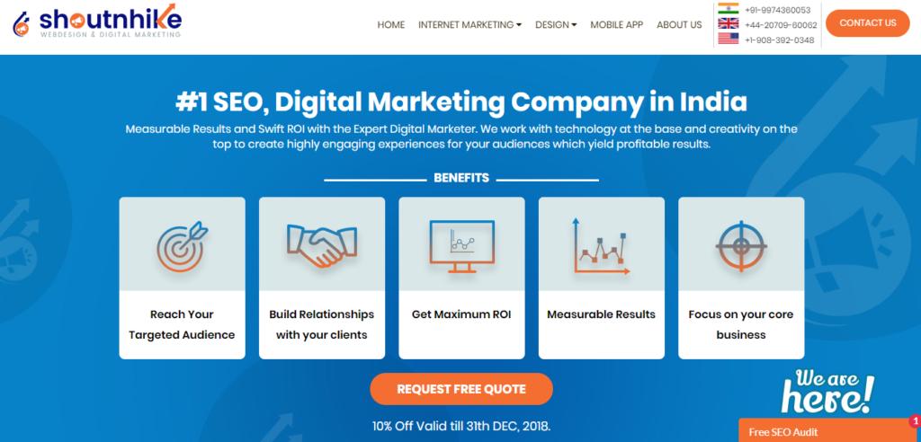 Top 10 Digital Marketing Agencies In India- Digital Dhairya