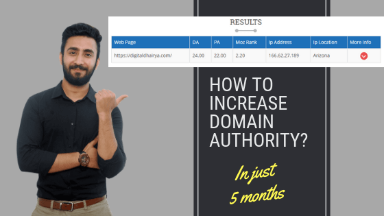 How To Increase Domain Authority
