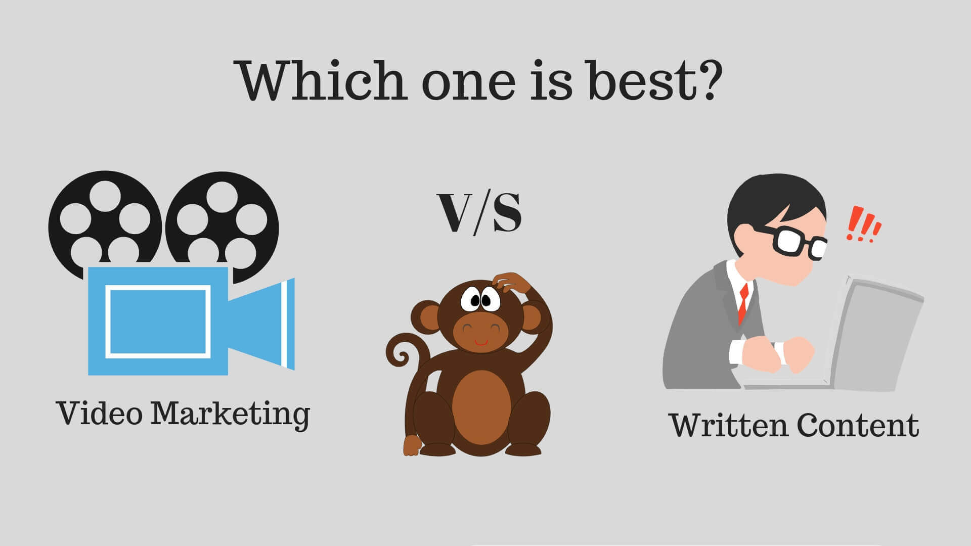 Video marketing vs written content