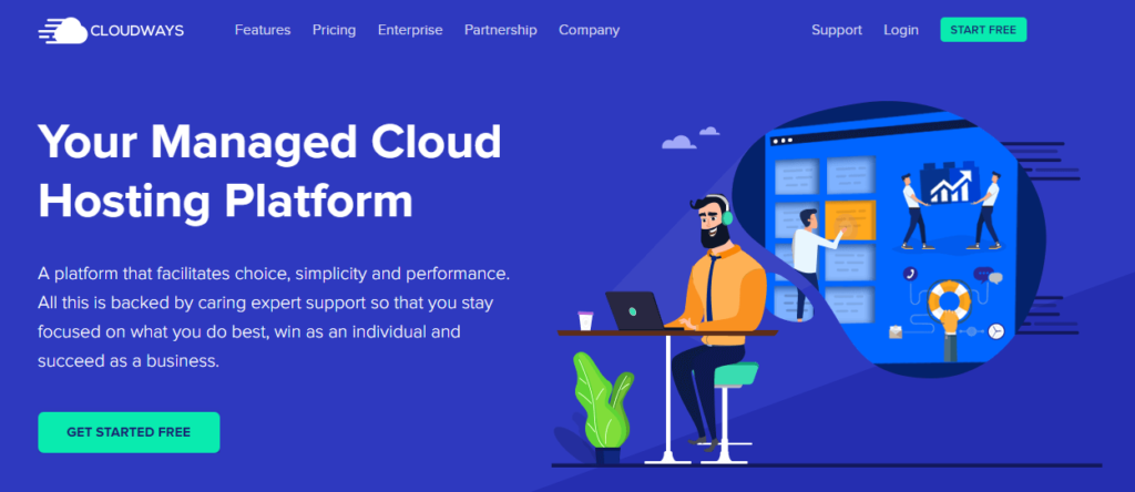 Cloudways best and cheap web hosting